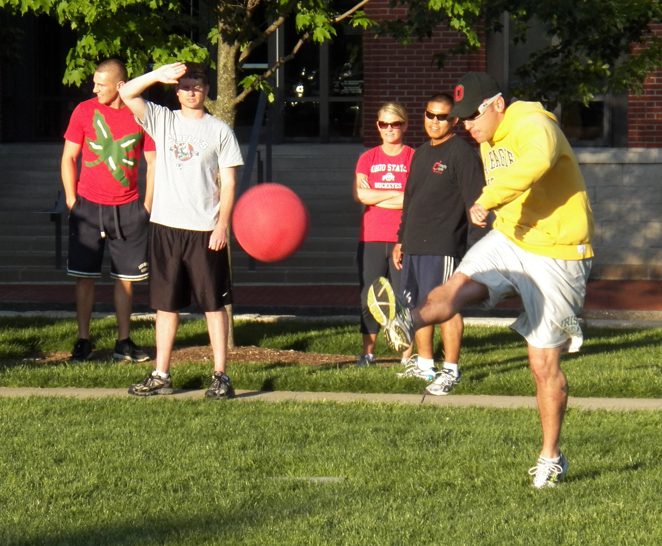 Playing kickball as an adult taught me that the best teams are the ones  that know how to lose